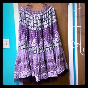 Dresses & Skirts - Lovely purple broom stick skirt.
